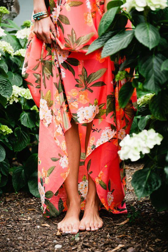 Tanger Outlets_Floral Skirt